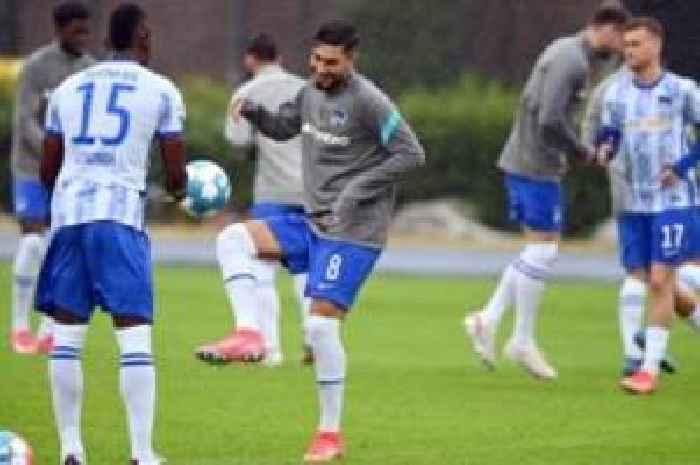 Fußball: Suat Serdar verzichtet wegen Hertha auf Olympia ...