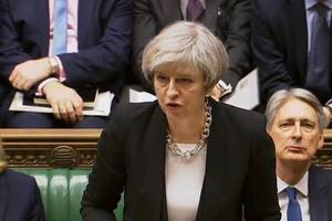 Anschlag in London: Was Theresa May im Parlament über den Täter verriet
