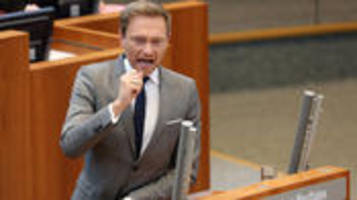 FDP-Chef: Lindner will Pkw-Maut noch stoppen
