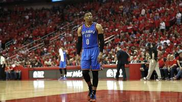 basketball: westbrook mit oklahoma in nba-playoffs gescheitert