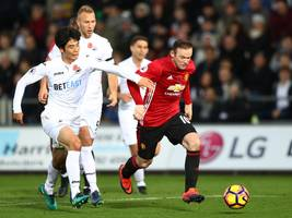 live: manchester united - swansea city