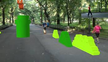 fpv im central park: super mario bros. als ar-game