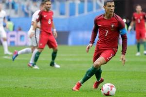 confed cup 2017 : so sehen sie portugal-chile im tv oder livestream
