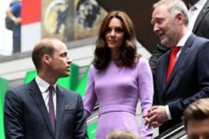 Royaler Besuch: William und Kate reisen mit dem ICE nach Hamburg