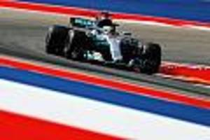 Grand Prix-Qualifikation - Lewis Hamilton holt Pole Position in Austin