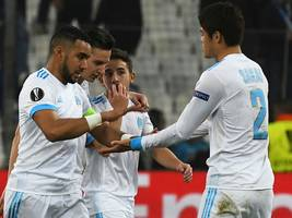 Olympique Marseille gegen RB Salzburg: LIVE-STREAM, TV, LIVE-TICKER, Europa League