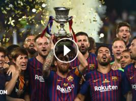 highlights, supercup: fc sevilla vs. barcelona 1:2