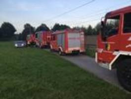waldbrand in ternitz-pottschach