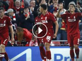 Highlights, UEFA Champions League: Liverpool - Paris Saint-Germain 3:2