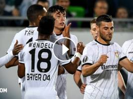 Highlights, UEFA Europa League: Ludogorets - Bayer Leverkusen 2:3