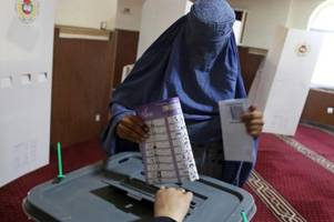 Angriffe und Chaos bei Parlamentswahl in Afghanistan