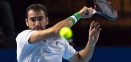 swiss indoors: cilic startet in basel ohne probleme