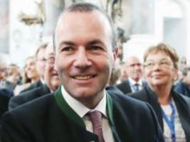 Manfred Weber: Ein Bayer in Europa