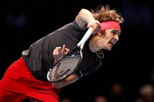 Tennis in London: Zverev fordert Idol Federer im Halbfinale der ATP-WM