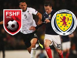 Albanien vs. Schottland: TV, LIVE-STREAM, Aufstellungen, LIVE-TICKER und Co. - alle Informationen zum Duell in der Nations League