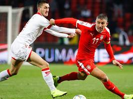 nations league: serbien dicht vor aufstieg in b-liga