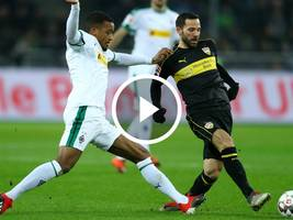 VIDEO-Highlights, Bundesliga: Gladbach - VfB Stuttgart 3:0