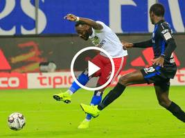 VIDEO-Highlights, 2. Bundesliga: HSV - SC Paderborn 1:0