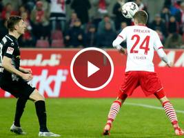 VIDEO-Highlights, 2. Bundesliga: 1. FC Köln - Magdeburg 3:0