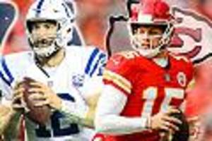 - chiefs vs. colts: das duell der super-quarterbacks