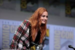 sophie turner: haarwasch-verbot bei game of thrones
