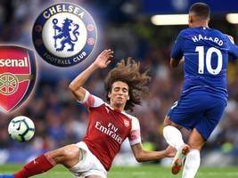 FC Arsenal vs. FC Chelsea: TV, LIVE-STREAM, LIVE-TICKER, Aufstellungen – alle Infos zum London-Derby