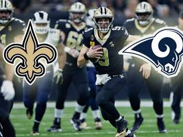 NFL-Playoffs: New Orleans Saints vs. LA Rams heute live im TV und LIVE-STREAM
