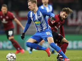 VIDEO-Highlights, Bundesliga: 1. FC Nürnberg - Hertha BSC 1:3