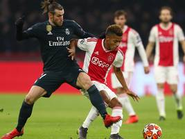 Ajax Amsterdam vs. Real Madrid: Highlights, TV, LIVE-STREAM, Aufstellungen, LIVE-TICKER - alle Infos zum Achtelfinal-Hinspiel in der Champions League