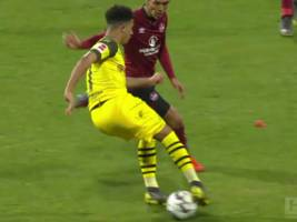 VIDEO-Highlights, Bundesliga: 1. FC Nürnberg vs. Borussia Dortmund 0:0