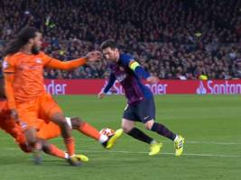 VIDEO: Lionel Messi zaubert in der Champios League in Lyons Strafraum