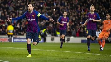 Champions-League-Gala von Barça: Messi und Co. demontieren Olympique Lyon