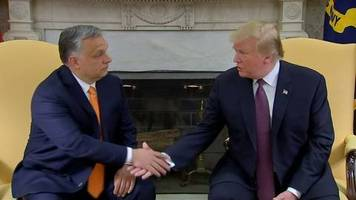 Video: Trump lobt Orban: Ein respektierter Mann