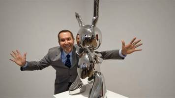 Video: New York: Hase von Jeff Koons bringt 91 Millionen US-Dollar