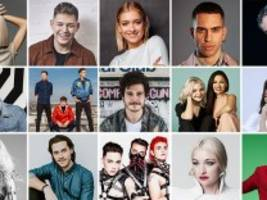 Eurovision Song Contest: Alle 26 ESC-Songs im Check