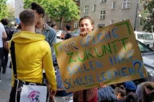 "Protest: ""Fridays for Future"": Schülerproteste am Lessing-Gymnasium"