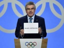 Winterspiele: IOC vergibt Olympia 2026 an Mailand