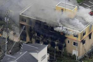 brand in japan: mindestens 24 tote nach feuer in animationsstudio