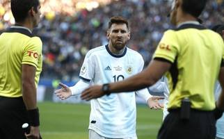 lionel messi nach korruptionsvorwürfen bei der copa america gesperrt
