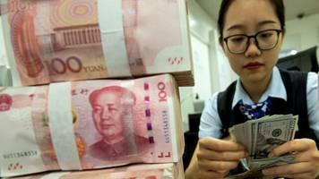 devisen: yuan fällt an auslandsbörsen auf rekordtief