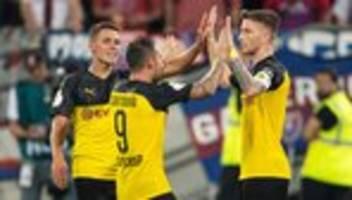 DFB-Pokal: Dortmund schlägt Uerdingen, Nürnberg siegt gegen Ingolstadt