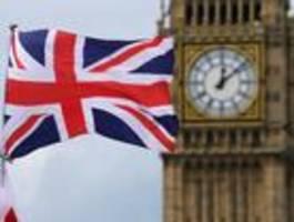 große teile londons und englands  betroffen