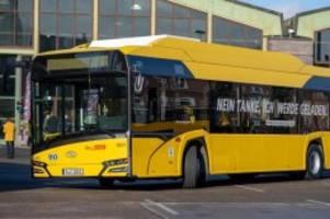 verkehr: verkehrssenatorin: e-busse sind beste wahl