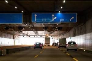 verkehr: sperrungen vor fertigstellung von lärmschutztunnel schnelsen