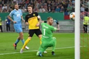 DFB-Pokal: Dortmund sicher gegen Uerdingen – Unwetter in Sandhausen