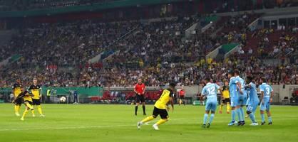 Vizemeister BVB siegt beim Drittligisten Uerdingen