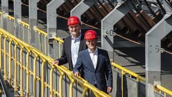 Scholz zu Besuch in Südbrandenburg: Wir stehen zur Lausitz