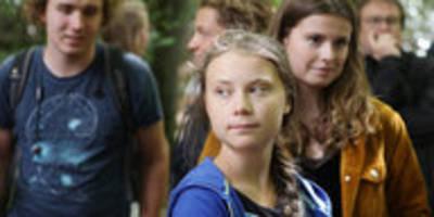 """greta thunberg im hambacher forst: """"dieser wald ist so wichtig"""""""