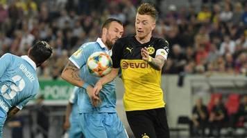DFB-Pokal: Reus gesteht Hand-Tor – BVB gegen Uerdingen eine Runde weiter
