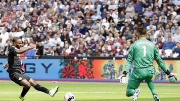 Premier League - Dreimal VAR,  dreimal Sterling: Man City schlägt West Ham